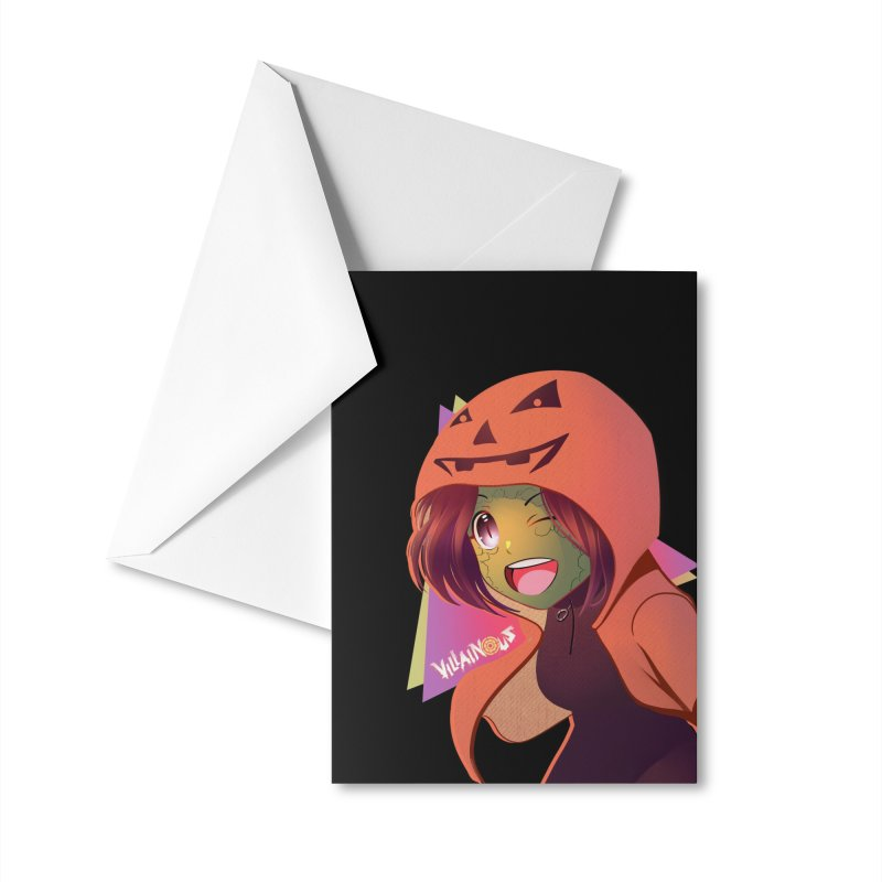 Villainous Rep-Tilly Halloween Accessories Greeting Card by Mad Cave Studios's Artist Shop
