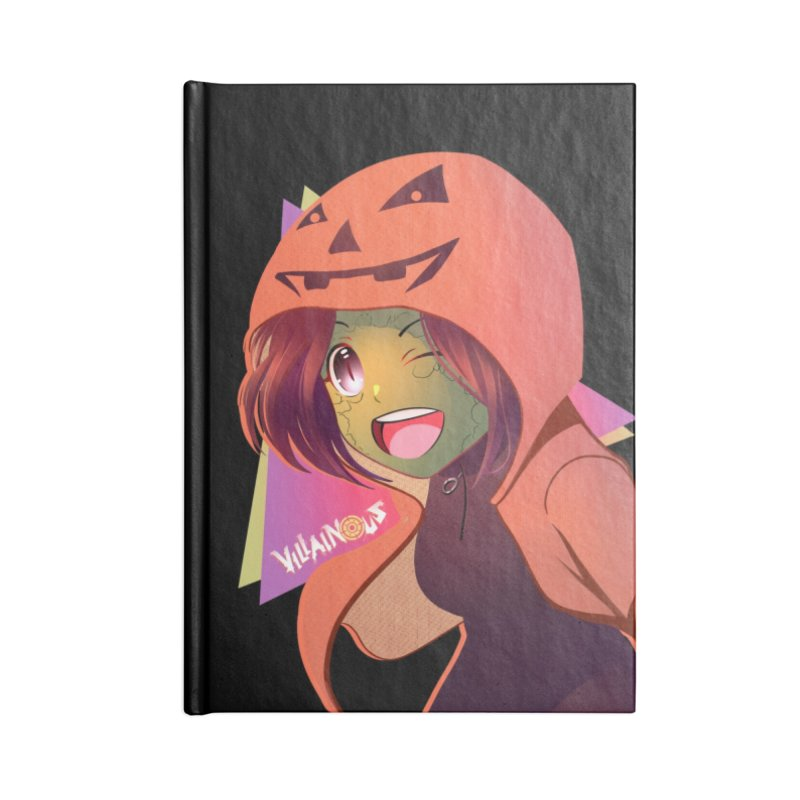 Villainous Rep-Tilly Halloween Accessories Notebook by Mad Cave Studios's Artist Shop