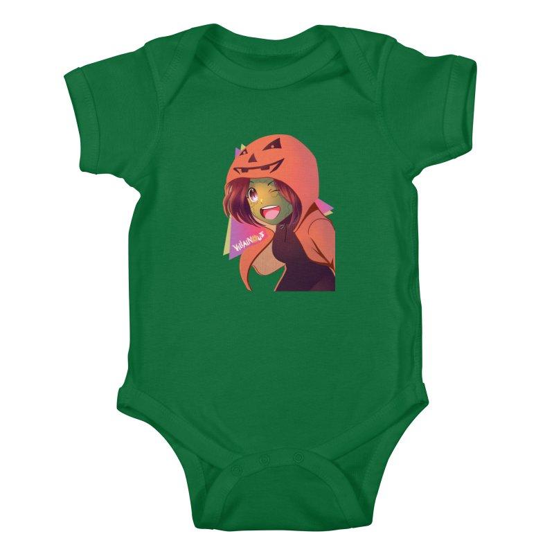 Villainous Rep-Tilly Halloween Kids Baby Bodysuit by Mad Cave Studios's Artist Shop