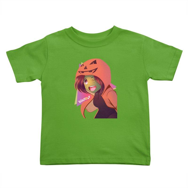 Villainous Rep-Tilly Halloween Kids Toddler T-Shirt by Mad Cave Studios's Artist Shop