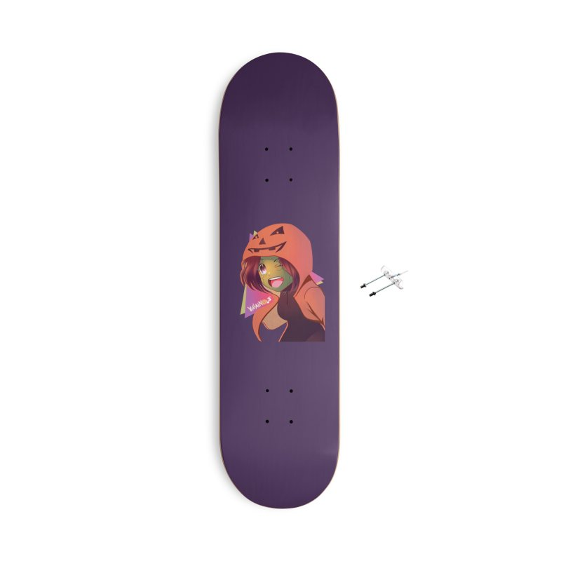 Villainous Rep-Tilly Halloween Accessories Skateboard by Mad Cave Studios's Artist Shop