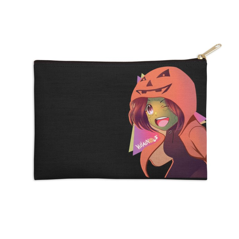Villainous Rep-Tilly Halloween Accessories Zip Pouch by Mad Cave Studios's Artist Shop