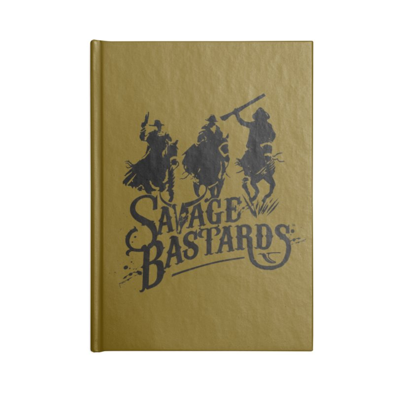 Savage Bastards - Across the Desert - Black Accessories Notebook by Mad Cave Studios's Artist Shop