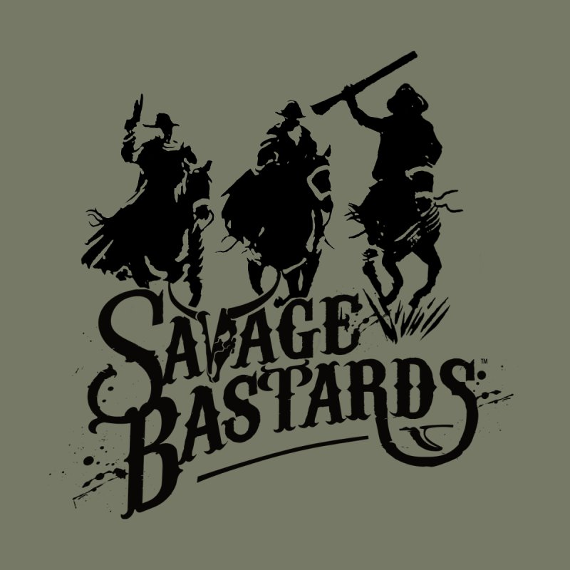 Savage Bastards - Across the Desert - Black Home Rug by Mad Cave Studios's Artist Shop