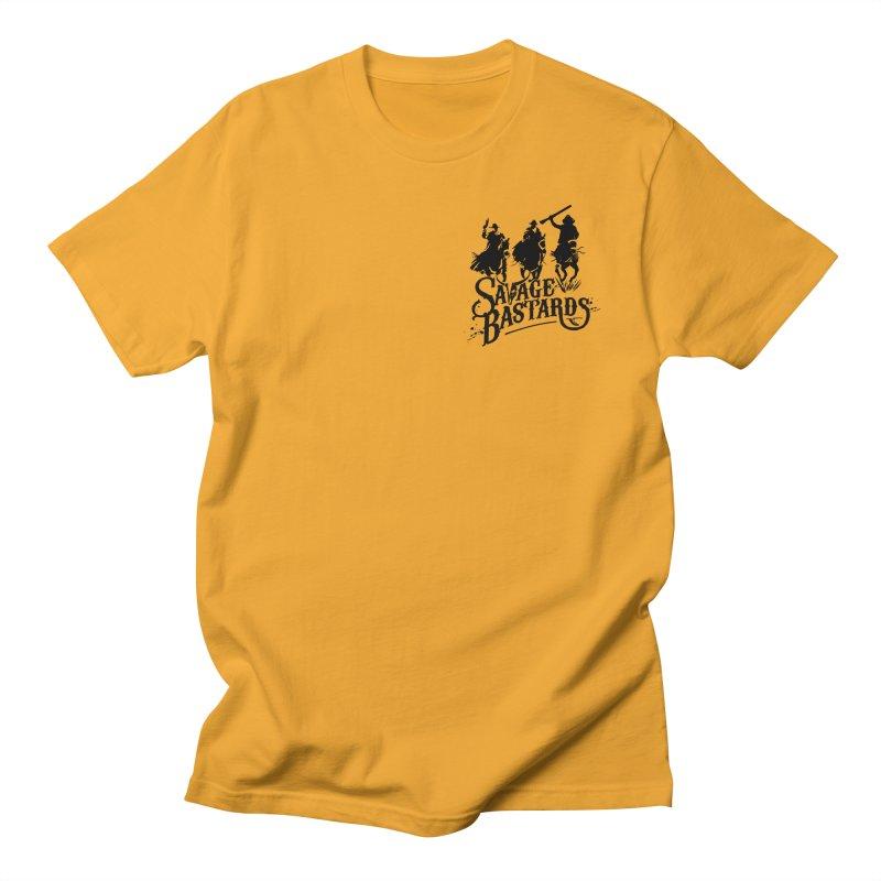 Savage Bastards - Across the Desert - Black Men's T-Shirt by Mad Cave Studios's Artist Shop