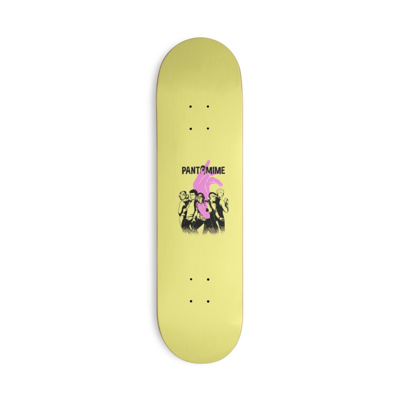 Pantomime - The Squad Accessories Skateboard by Mad Cave Studios's Artist Shop