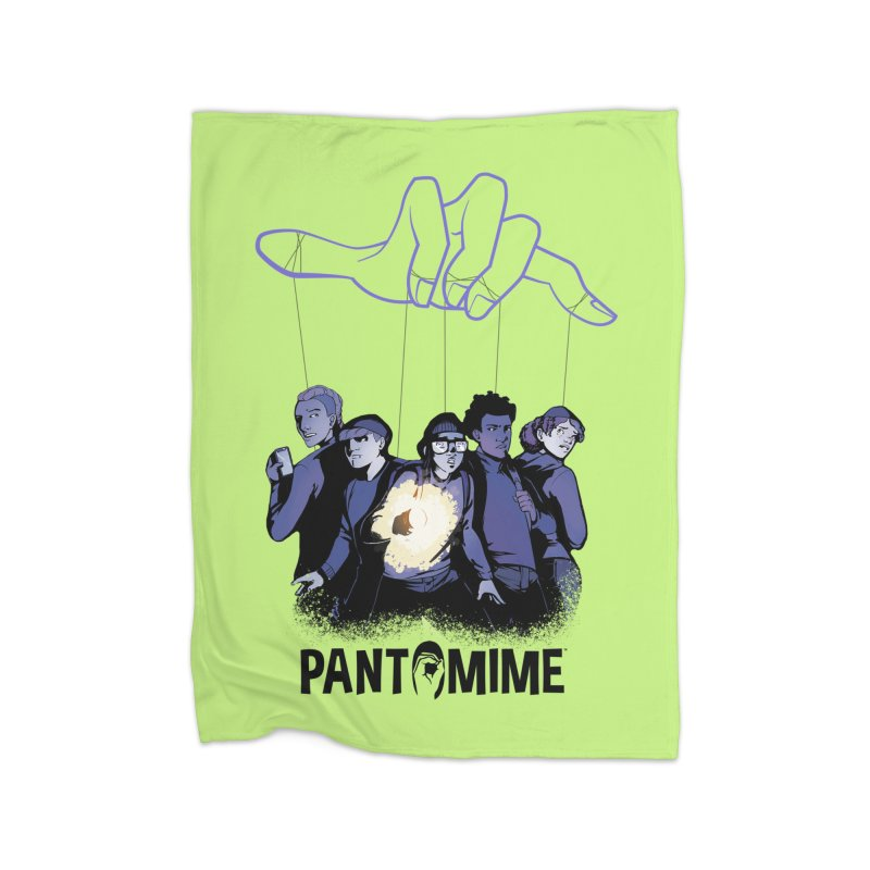 Pantomime - Strings Home Blanket by Mad Cave Studios's Artist Shop