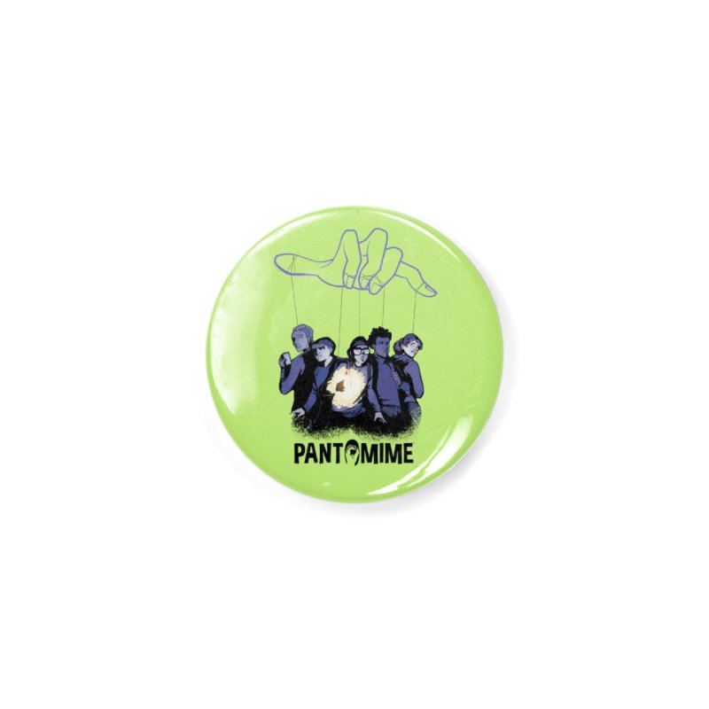 Pantomime - Strings Accessories Button by Mad Cave Studios's Artist Shop
