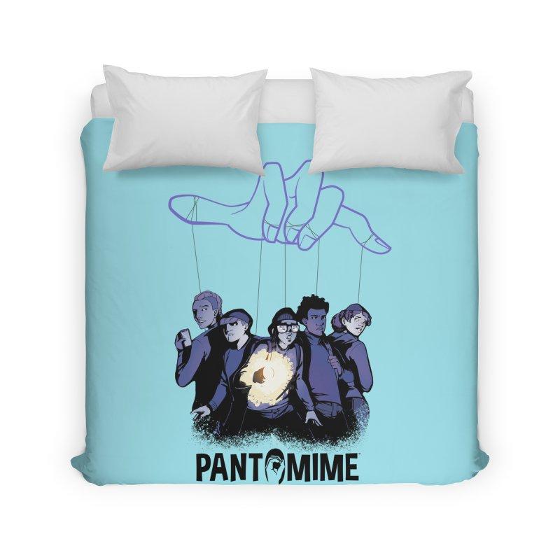 Pantomime - Strings Home Duvet by Mad Cave Studios's Artist Shop