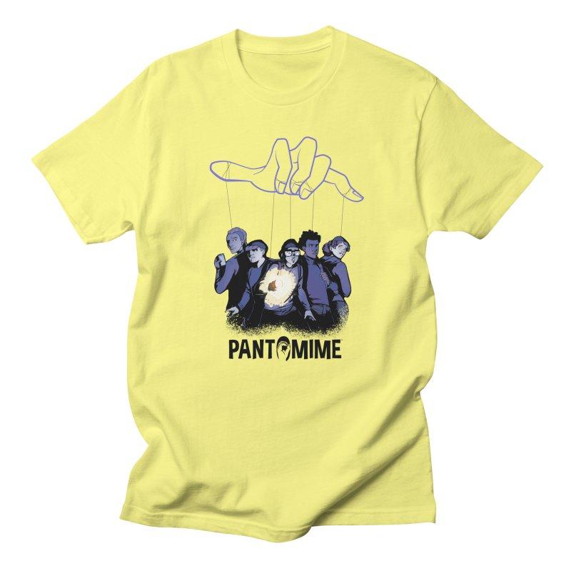 Pantomime - Strings Men's T-Shirt by Mad Cave Studios's Artist Shop