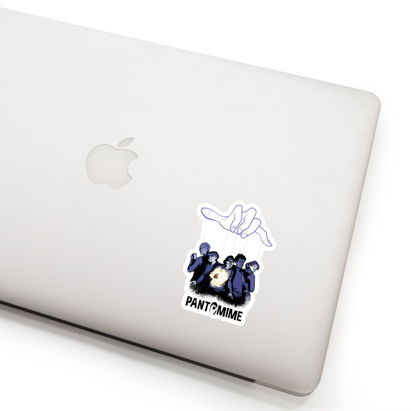 Pantomime - Strings Accessories Sticker by Mad Cave Studios's Artist Shop