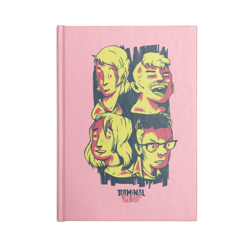 Terminal Punks - The Band Accessories Notebook by Mad Cave Studios's Artist Shop