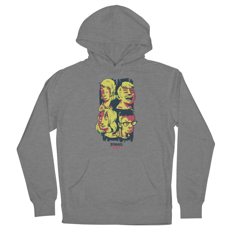 Terminal Punks - The Band Women's Pullover Hoody by Mad Cave Studios's Artist Shop