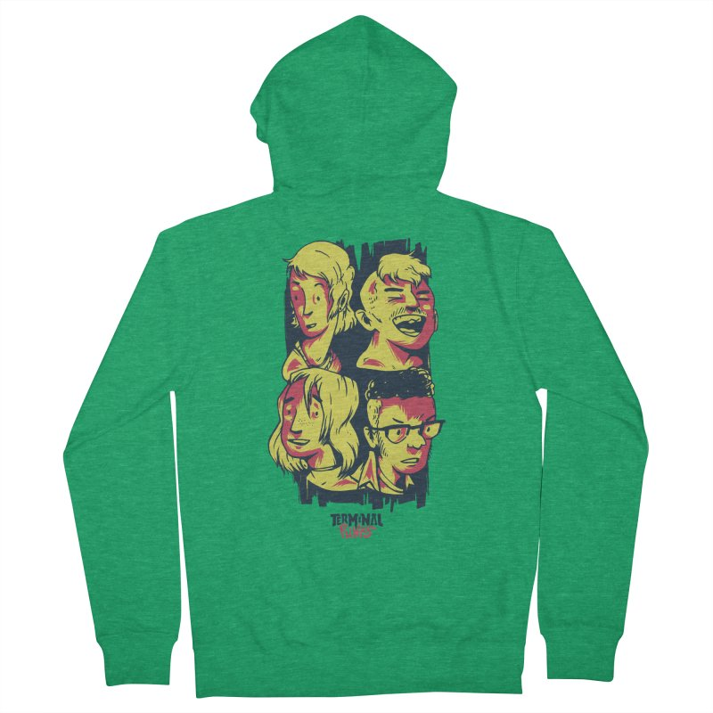 Terminal Punks - The Band Women's Zip-Up Hoody by Mad Cave Studios's Artist Shop