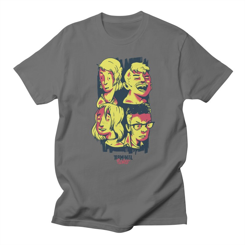 Terminal Punks - The Band Men's T-Shirt by Mad Cave Studios's Artist Shop