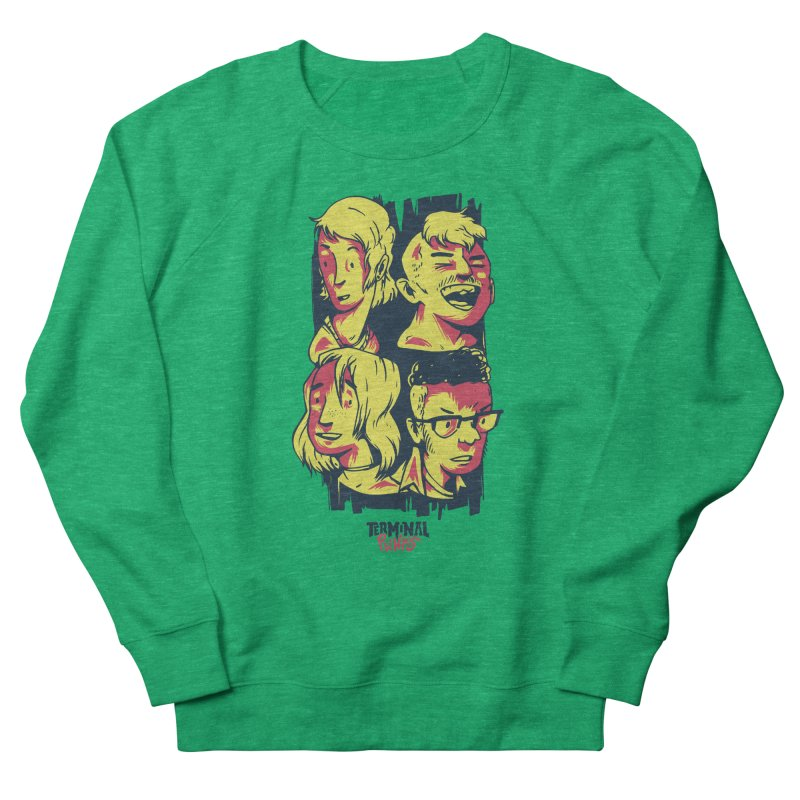 Terminal Punks - The Band Women's Sweatshirt by Mad Cave Studios's Artist Shop