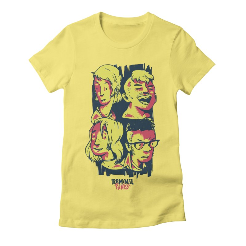 Terminal Punks - The Band Women's T-Shirt by Mad Cave Studios's Artist Shop