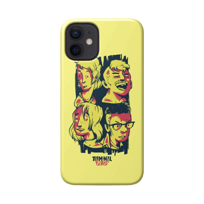 Terminal Punks - The Band Accessories Phone Case by Mad Cave Studios's Artist Shop