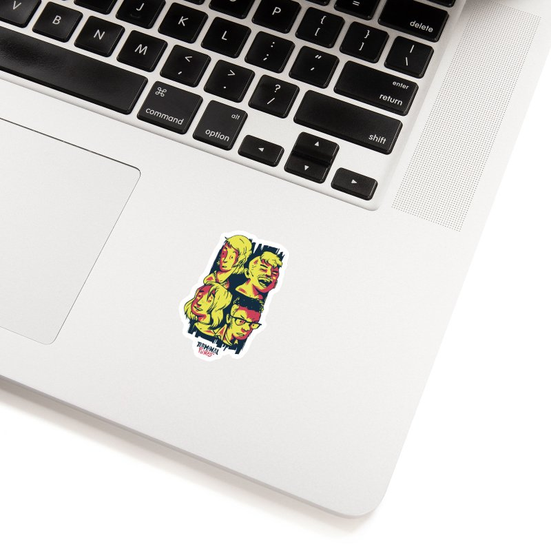 Terminal Punks - The Band Accessories Sticker by Mad Cave Studios's Artist Shop