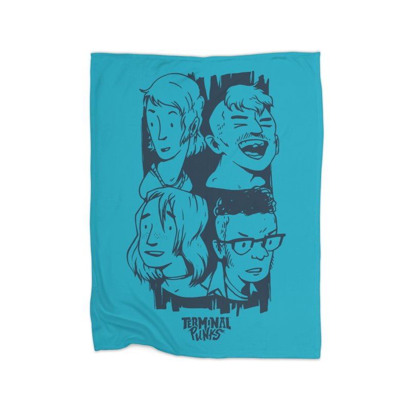 Terminal Punks - The Band - 2 Home Blanket by Mad Cave Studios's Artist Shop