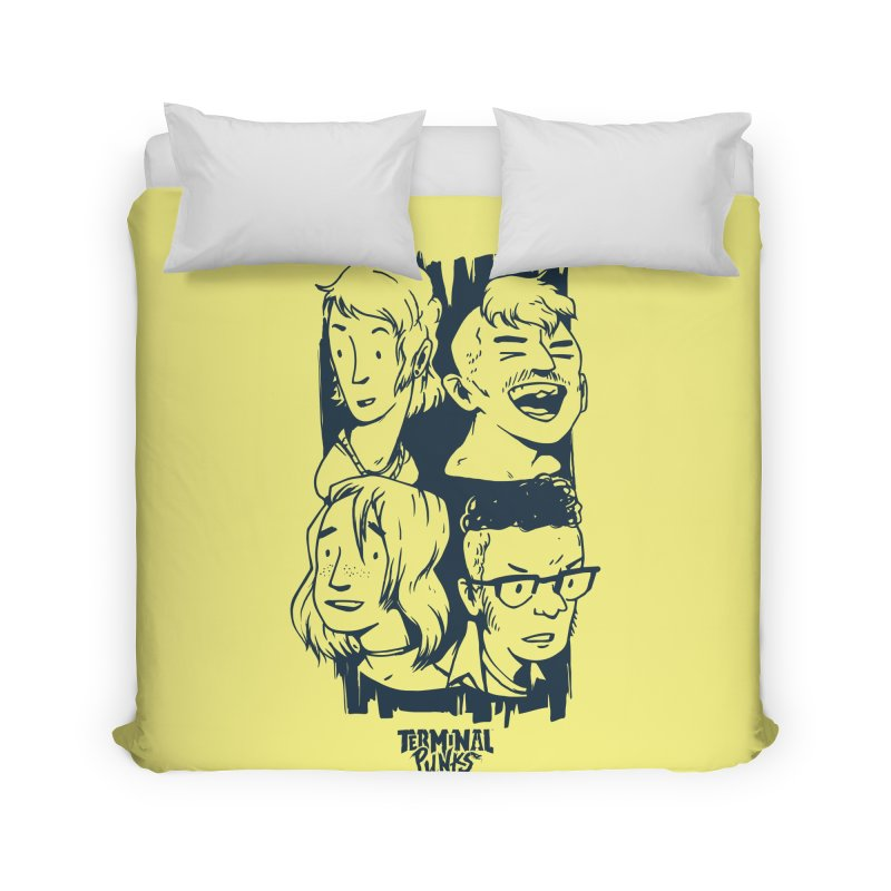 Terminal Punks - The Band - 2 Home Duvet by Mad Cave Studios's Artist Shop