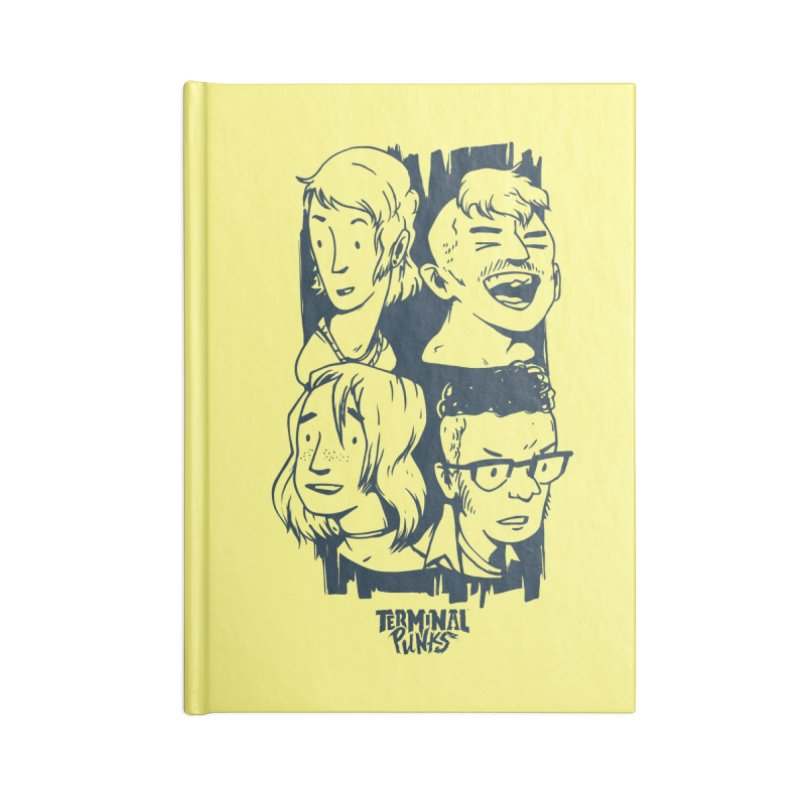 Terminal Punks - The Band - 2 Accessories Notebook by Mad Cave Studios's Artist Shop