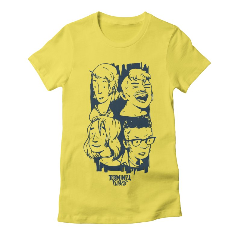 Terminal Punks - The Band - 2 Women's T-Shirt by Mad Cave Studios's Artist Shop