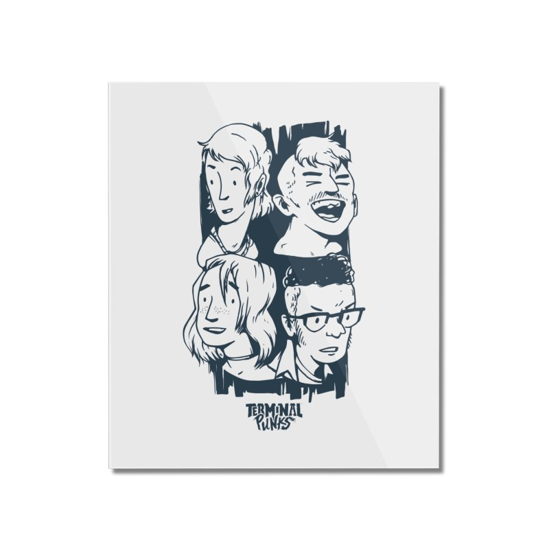 Terminal Punks - The Band - 2 Home Mounted Acrylic Print by Mad Cave Studios's Artist Shop