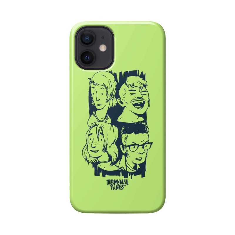 Terminal Punks - The Band - 2 Accessories Phone Case by Mad Cave Studios's Artist Shop