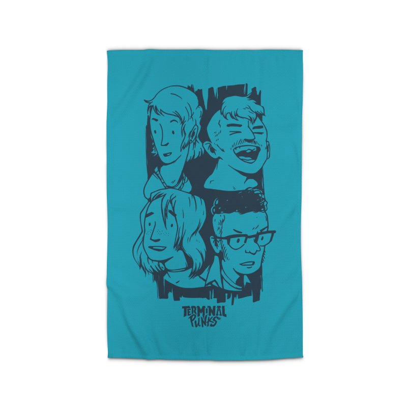 Terminal Punks - The Band - 2 Home Rug by Mad Cave Studios's Artist Shop