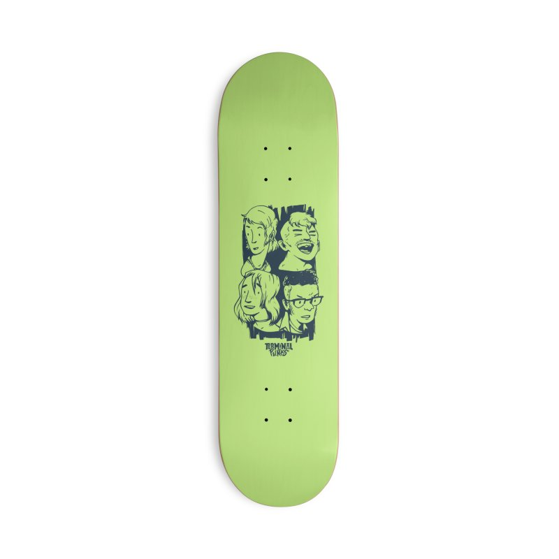 Terminal Punks - The Band - 2 Accessories Skateboard by Mad Cave Studios's Artist Shop