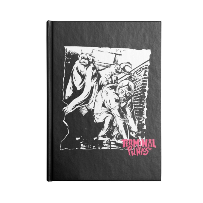 Terminal Punks - Lady Marmalade & Co. Accessories Notebook by Mad Cave Studios's Artist Shop