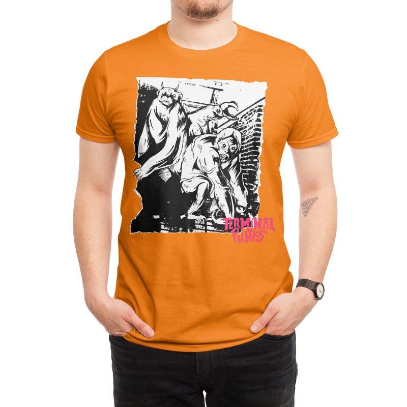 Terminal Punks - Lady Marmalade & Co. Men's T-Shirt by Mad Cave Studios's Artist Shop