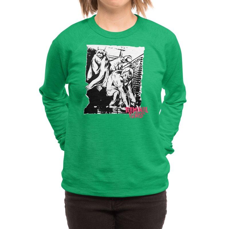 Terminal Punks - Lady Marmalade & Co. Women's Sweatshirt by Mad Cave Studios's Artist Shop