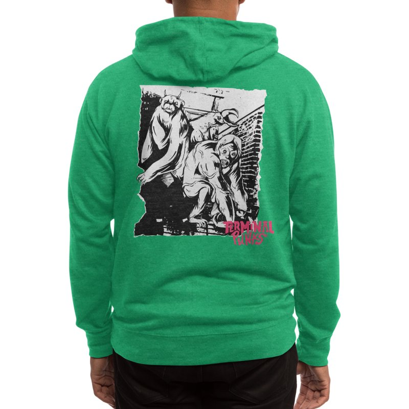 Terminal Punks - Lady Marmalade & Co. Men's Zip-Up Hoody by Mad Cave Studios's Artist Shop