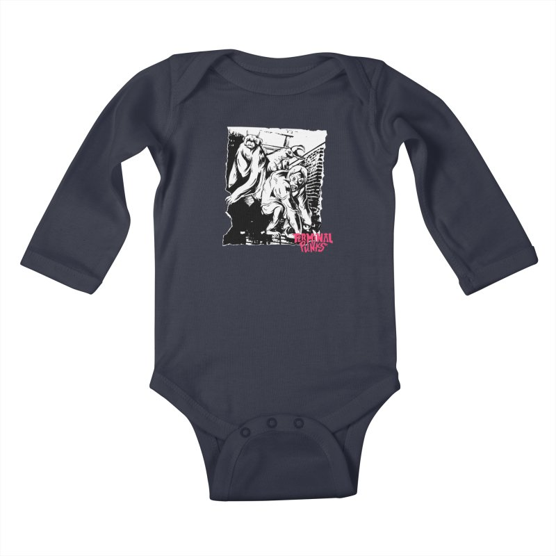 Terminal Punks - Lady Marmalade & Co. Kids Baby Longsleeve Bodysuit by Mad Cave Studios's Artist Shop