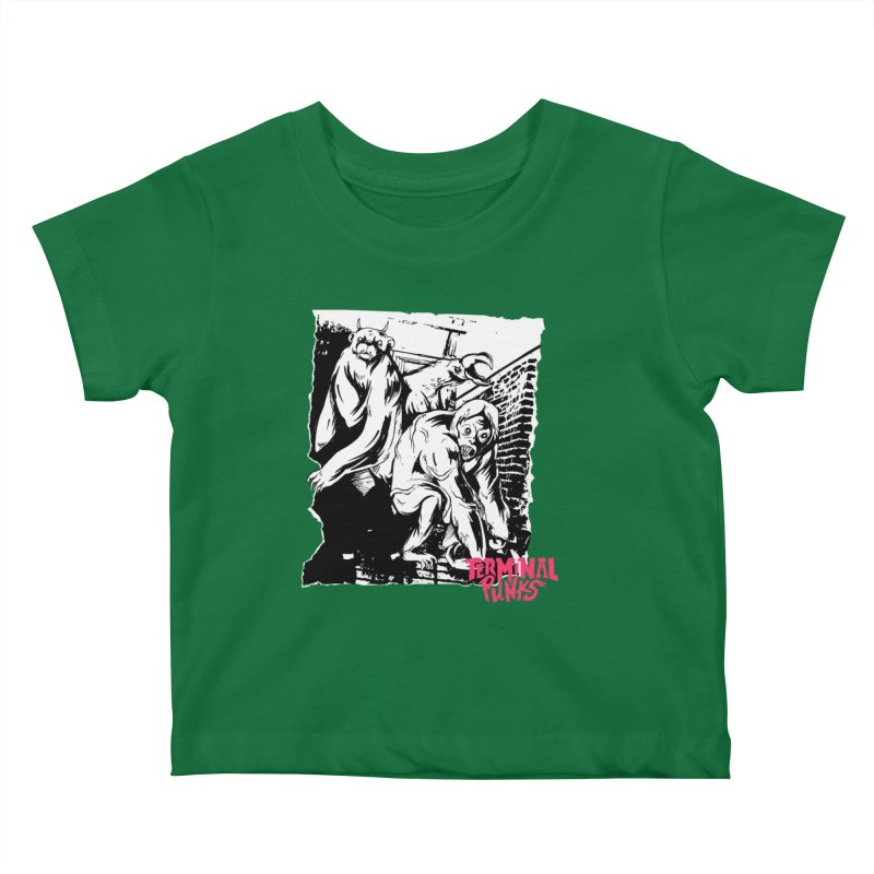 Terminal Punks - Lady Marmalade & Co. Kids Baby T-Shirt by Mad Cave Studios's Artist Shop