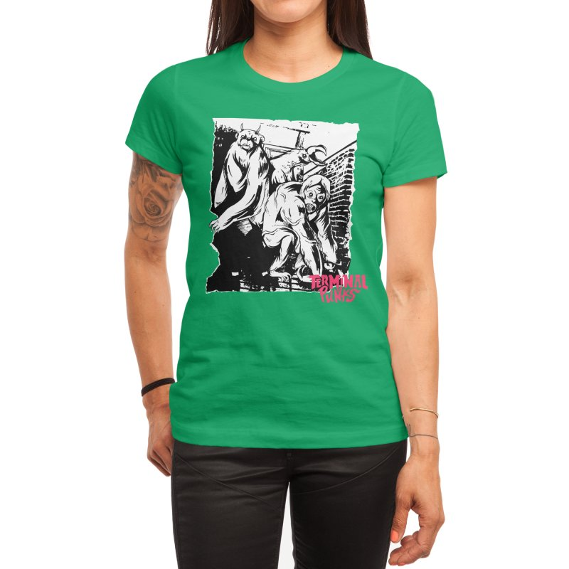 Terminal Punks - Lady Marmalade & Co. Women's T-Shirt by Mad Cave Studios's Artist Shop