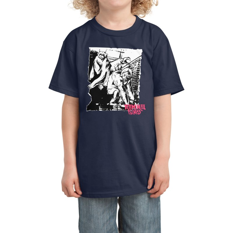 Terminal Punks - Lady Marmalade & Co. Kids T-Shirt by Mad Cave Studios's Artist Shop