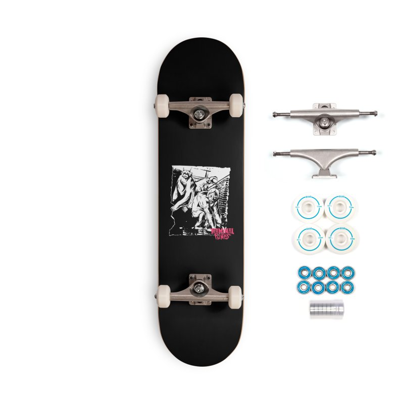 Terminal Punks - Lady Marmalade & Co. Accessories Skateboard by Mad Cave Studios's Artist Shop