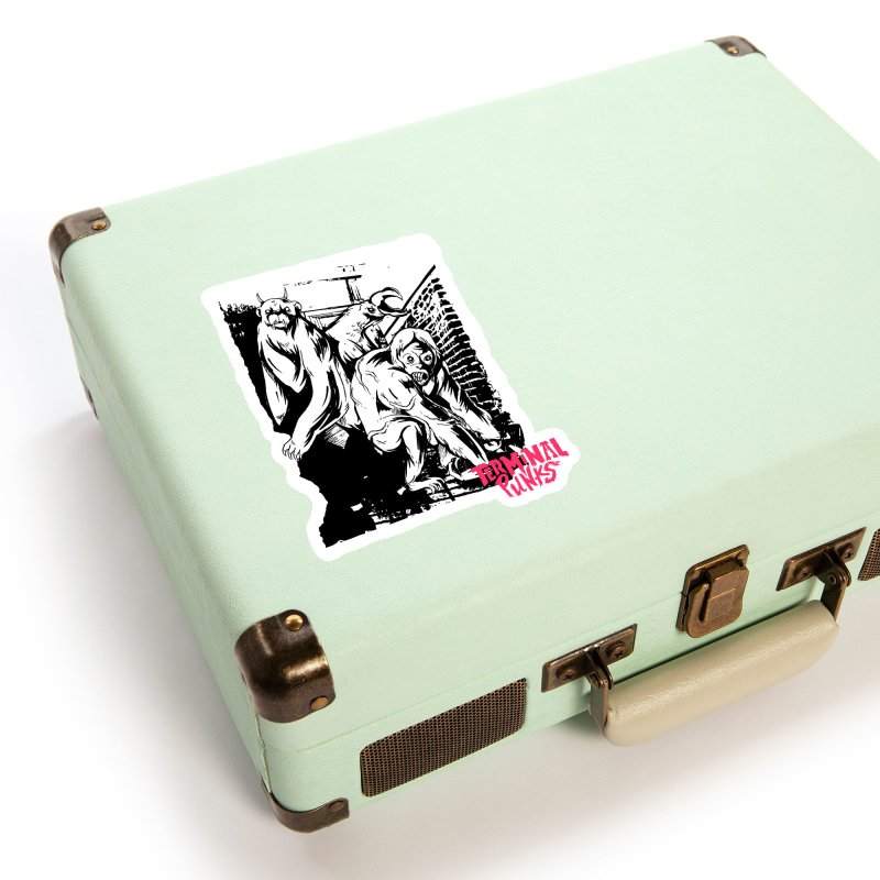 Terminal Punks - Lady Marmalade & Co. Accessories Sticker by Mad Cave Studios's Artist Shop