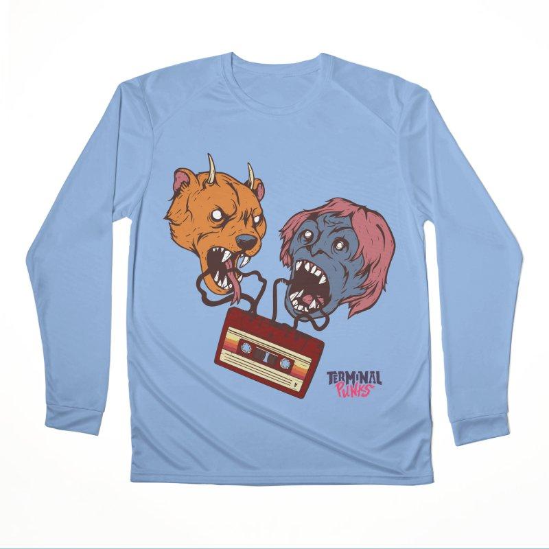 Terminal Punks - Retro Cassette Women's Longsleeve T-Shirt by Mad Cave Studios's Artist Shop