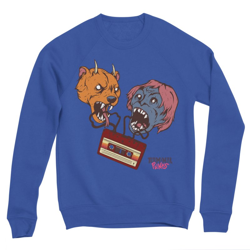 Terminal Punks - Retro Cassette Men's Sweatshirt by Mad Cave Studios's Artist Shop