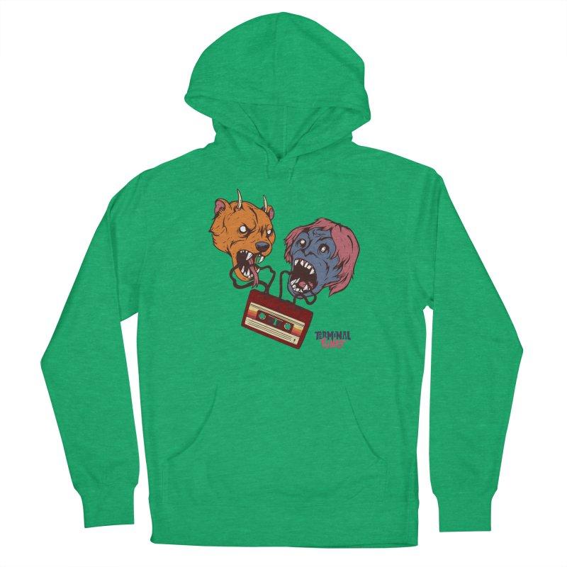 Terminal Punks - Retro Cassette Men's Pullover Hoody by Mad Cave Studios's Artist Shop