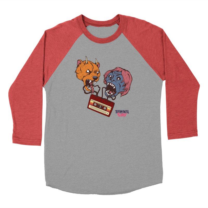 Terminal Punks - Retro Cassette Men's Longsleeve T-Shirt by Mad Cave Studios's Artist Shop