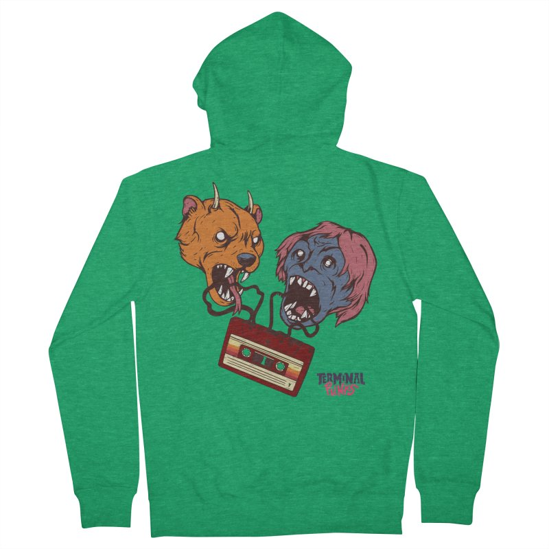 Terminal Punks - Retro Cassette Men's Zip-Up Hoody by Mad Cave Studios's Artist Shop
