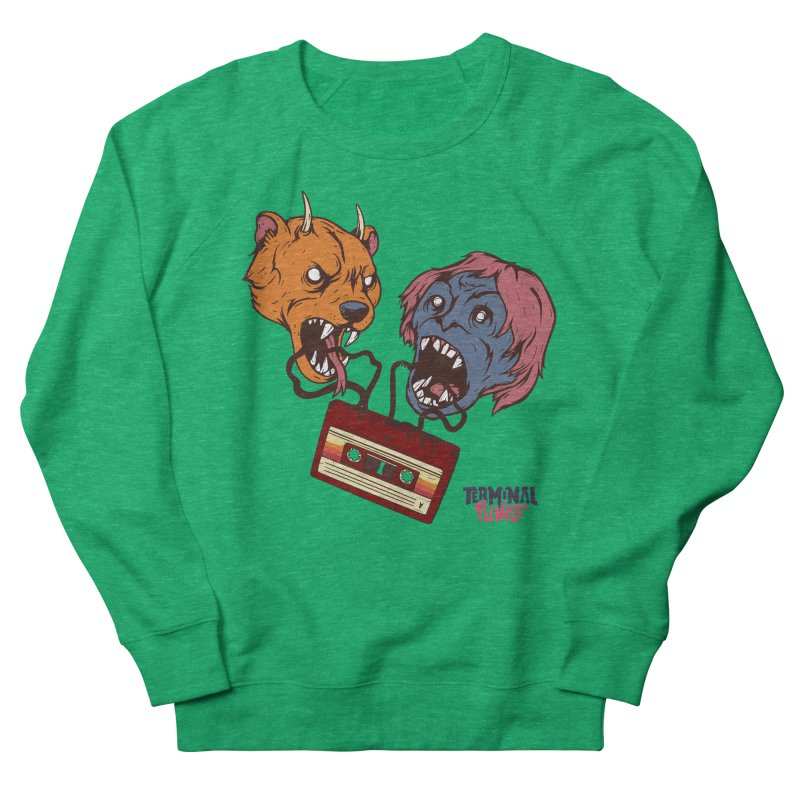 Terminal Punks - Retro Cassette Women's Sweatshirt by Mad Cave Studios's Artist Shop
