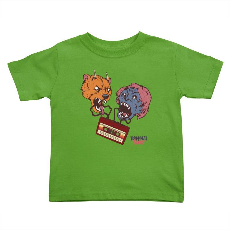 Terminal Punks - Retro Cassette Kids Toddler T-Shirt by Mad Cave Studios's Artist Shop