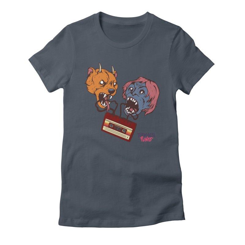 Terminal Punks - Retro Cassette Women's T-Shirt by Mad Cave Studios's Artist Shop