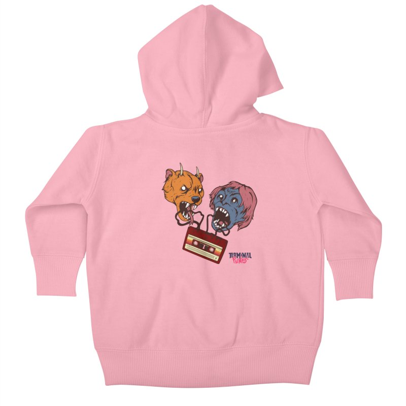 Terminal Punks - Retro Cassette Kids Baby Zip-Up Hoody by Mad Cave Studios's Artist Shop